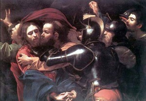 Judas Betrayal Kiss