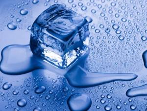 Fluid as Melting Ice