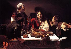 Emmaus Supper by Carravacio