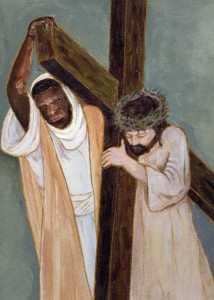 Simon Carries the Cross